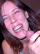 Non-stop blowjobs and cumshots from these milfs 37