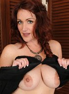 Mature Babe Ryan Unleashes Big Tits After Long Day