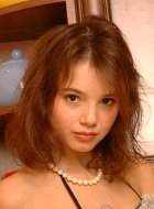 See petite brunette teen Gerri in hot fetish pics