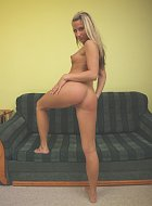 girl is playing with hot dessous