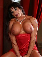 Big Tits Brunette Femael Bodybuilder Mariana Lopez