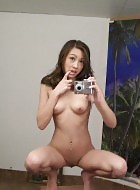 Wild self shot and hot asian amateur teen naked