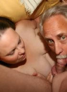 Bisexual mom and dad sucking off guys in family