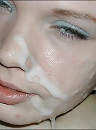 Girls Nextdoor Teen Faces Covered With Sticky Jism
