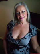 Big tits attractive mature granny bedroom strip